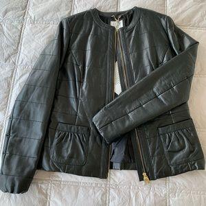 Geox leather jacket